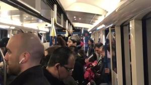 Metro overcrowding