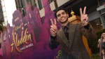 "Mena Massoud arrives at the premiere of ""Aladdin"" on Tuesday, May 21, 2019, at the El Capitan Theatre in Los Angeles. THE CANADIAN PRESS/AP, Chris Pizzello/Invision"