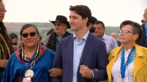 Trudeau in Sask.