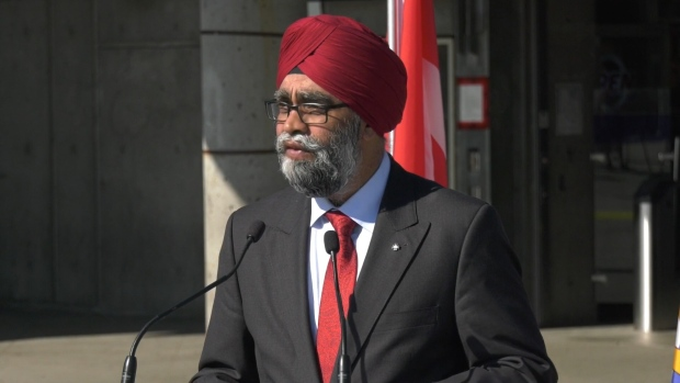 Funding announcement for SkyTrain