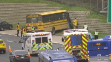 School bus crash, May 23