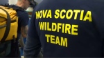 Twenty-one Nova Scotian firefighters left Halifax Stanfield International Airport early this morning for a flight to Alberta.