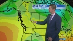 Thunderstorms possible later in day