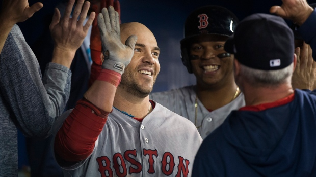 345411bb1 Red Sox close out four-game series with 8-2 rout of Blue Jays in matinee