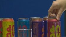 High alcohol sugary drinks