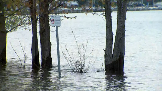 Toronto Islands impacted by rising water levels, city says