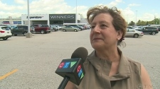 A Windsor woman found a wad of cash and wants to f