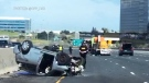 Girl, 4, thrown from vehicle after Hwy. 401 crash