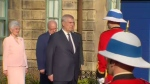 The Queen's second son, Prince Andrew, The Duke of York, is in Halifax.