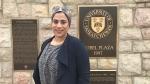 Amira Abdelrasoul leads the university's membrane science and nanotechnology research team. (Saron Fanel/CTV Saskatoon)