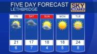 Lethbridge forecast for May 23, 2019