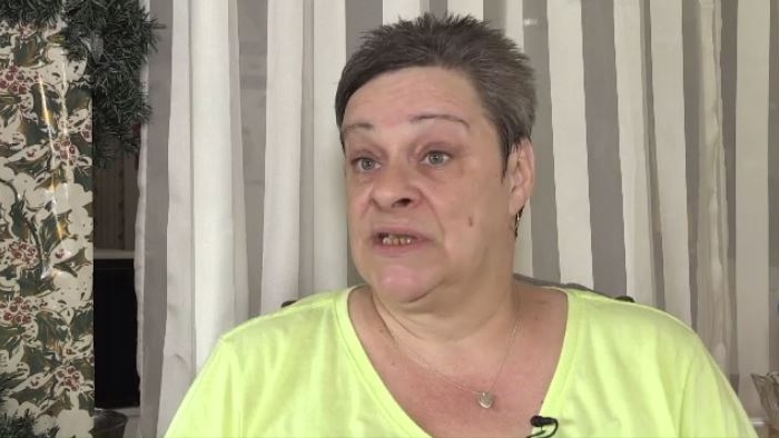 Jeannine Godin of Nackawic says she received a package by courier from Horizon Health containing test results and confidential mail addressed to four other patients at Fredericton's Everett Chalmers Hospital.