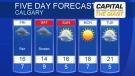 Calgary forecast for May 23, 2019