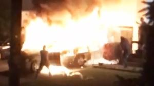 Police investigating exploding van in Abbotsford