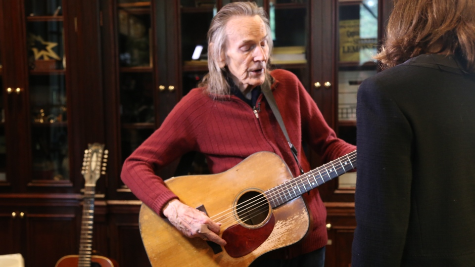 Canadian legend Gordon Lightfoot's life is being explored in a new documentary and now at age 80, he's in the midst of a U.S. tour as he completes his first album in 15 years. (Rosa Hwang)