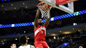 Raptors take 3-2 series lead over Bucks