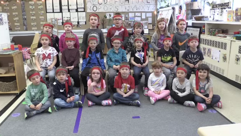 'We got to take the meanness out': Meet the kindergarten class 'kindness ninjas' hard at work