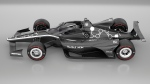 "This artists rendering provided by IndyCar shows an IndyCar featuring an aeroscreen (windshield). IndyCar will use an ""Aeroscreen"" developed by Red Bull Advanced Technologies for cockpit protection beginning next season. The safety piece will cover the cockpit with a ballistic screen anchored by titanium framework. (Chris Beatty/IndyCar via AP)"