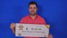 Martin Bergeron of Kapuskasing, lottery winner (OLG)