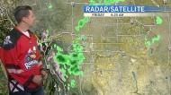 More rain to come for Calgary. Kevin has the forec