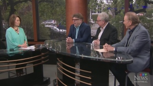 Aaron Rand, Terry DiMonte and Bill Brownstein go o