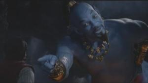 Will Smith stars in Aladdin as the genie