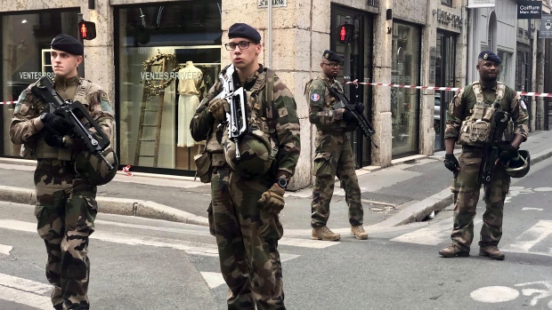 Lyon bomb attack
