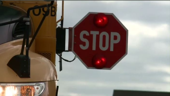 After another near-miss, N.B. school-bus drivers say motorists need to wake up