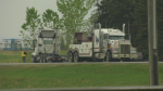 A semi was involved in a crash on May 24, 2019.