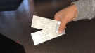 TJ Bains was able to purchase two tickets for the Raptors' Game 6. (Craig Wadman/CTV News Toronto)