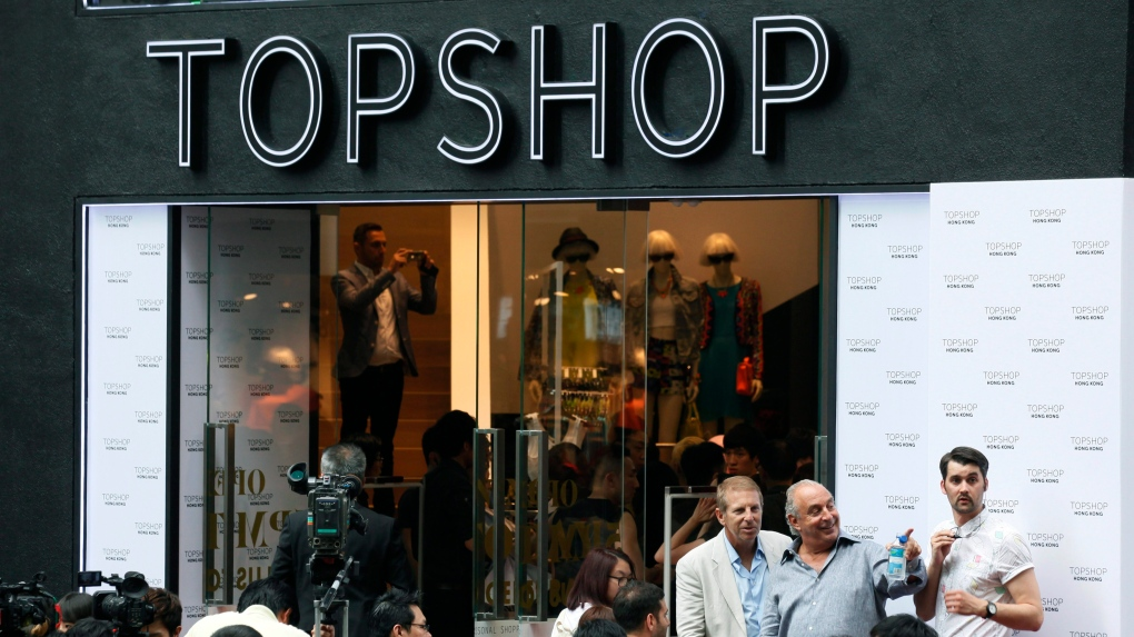 Topshop and Topman closing all U.S. stores; Canadian locations unaffected