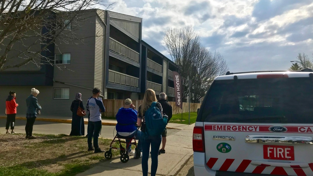 Firefighters had to wake person during apartment evacuation