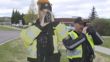 Constable Scarecrow unveiled by Ottawa Police.