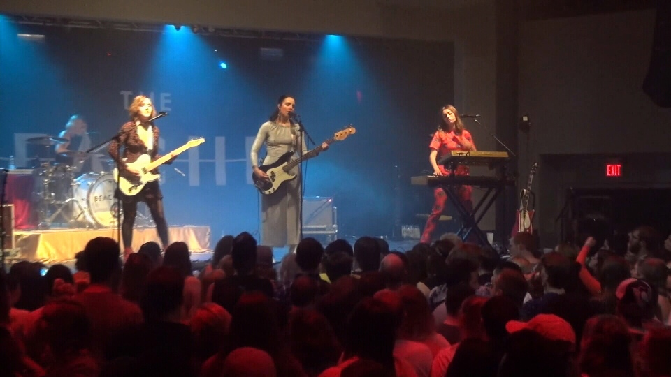 The Beaches perform in Peterborough.