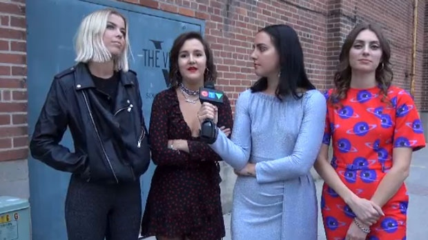 The Beaches speak with CTV News Toronto during their tour stop in Peterborough.