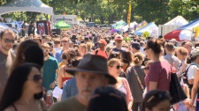 The Village Block Party on Cook Street proved popular in 2018, and another well-attended event is expected this year. (CTV Vancouver Island)