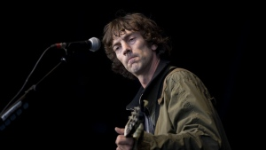 British musician Richard Ashcroft at the Hop Farm music festival in Paddock Wood, Kent, United Kingdom, on July 1, 2012. (Ben Stanstall / AFP)