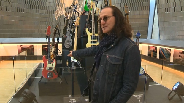 National Music Centre Hosts Geddy Lee S Big Beautiful