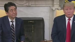 Trump kicks off visit to Japan