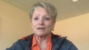 Mayor of High Level Crystal McAteer