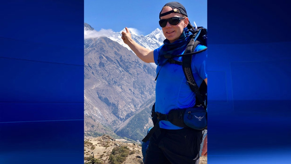 44-year-old Robin Fisher, of the U.K., reached the top of Mount Everest on May 25 but died shortly after.