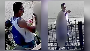 The Vancouver Police Department has released images of a man suspected of sexually assaulting a young woman. Source: VPD