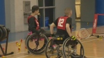 The Canadian Paralympic Committee was in Halifax hosting an open try-out for aspiring Paralympic athletes.