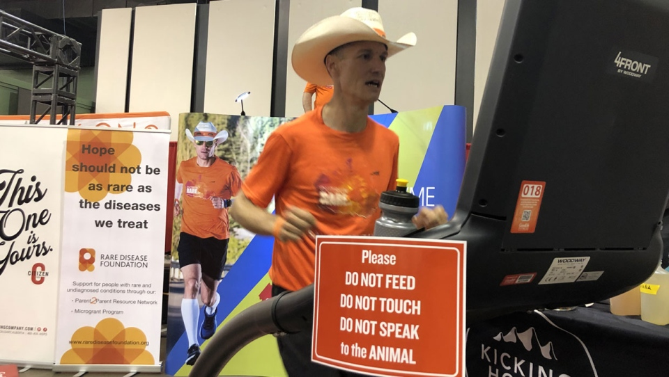 calgary guinness david proctor treadmill