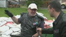 Sandbag cleanup begins in Gatineau