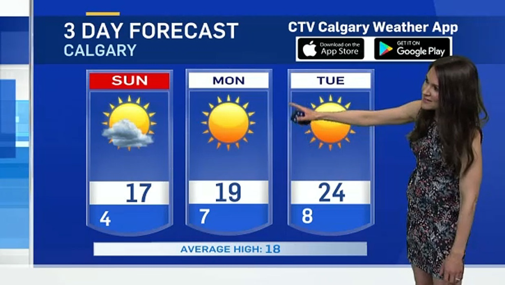 Rain to continue in Calgary area  Carla has the forecast… | CTV News