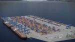 A rendering of the Robert Bank Terminal 2 project. Source: Port of Vancouver