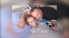 Nine-year-old Micaela is recovering from carbon monoxide poisoning.