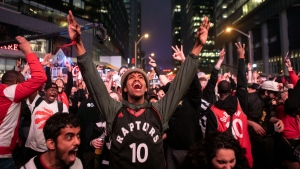 CTV National News: Fans gather to support Raptors