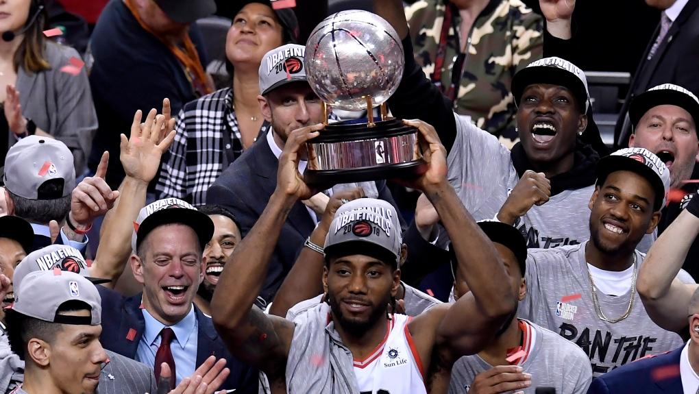 5dfe2b342c7 A timeline of the Toronto Raptors' road to the NBA Finals | CTV News Toronto